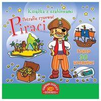 Książka z szablonami Potrafię rysować Piraci, rok wydania (2011)