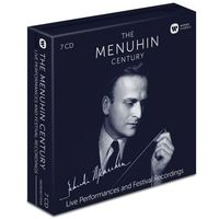 The Menuhin Century: Live Performances and Festival Recordings (CD) - Yehudi Menuhin