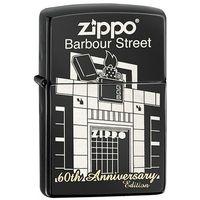 Zippo Zapalniczka  barbour street building, ebony