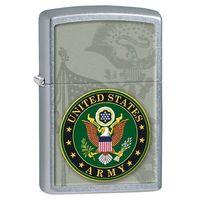 Zapalniczka Zippo U.S.ARMY, Street Chrome