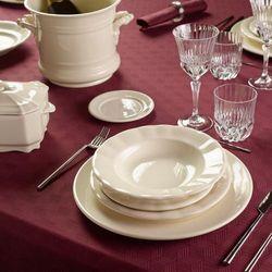 Pickman zestaw obiadowy aurora blanca 42 el dla 12 osób marki La cartuja de sevilla