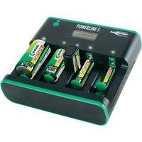 Ładowarka do akumulatorków Ansmann Powerline 5 Zero-Watt 5207463-510, AAA, AA, C, D, 9 V