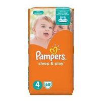 Pampers Pieluszki  sleep&play 4 maxi, 68 szt.