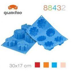 silikonowa forma na muffinki spring flower 30x17 cm 4 kolory 88432 marki Granchio