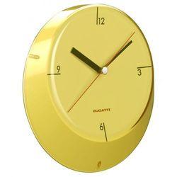 Zegar BUGATTI Glamour Żółty + DARMOWY TRANSPORT!, kolor żółty