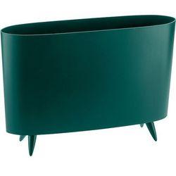 Stojak na gazety Milano emerald, 5350649