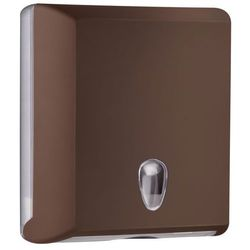 Pojemnik na ręczniki papierowe składane M Marplast plastik brązowy (5902023967177)
