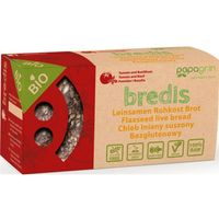 Papagrin (przekąski raw) Chleb lniany suszony z pomidarami i bazylią bezglutenowy bio 70 g - papagrin (59032