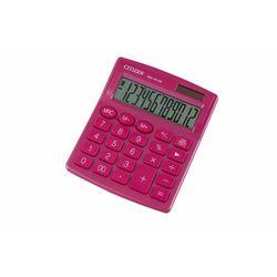 Citizen Kalkulator biurowy sdc-812nrpke, 12-cyfrowy, 127x105mm, różowy