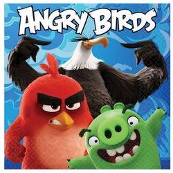 Serwetki urodzinowe Angry Birds Movie - 33 cm - 16 szt.