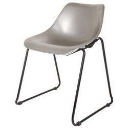 Woood Krzesło BUCKET srebrne 375600-S, 375600-S