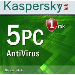 Kaspersky  antyvirus 2016 5 pc esd