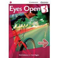 EYES OPEN 3 WB WITH ONLINE PRACTICE-mamynastanie,wyślemyjuż...., Anderson Vicki, Higgins Eoin