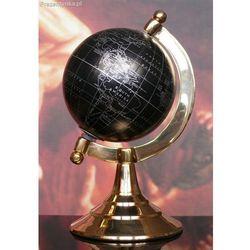 Globus mosiężno - plastikowy czarny