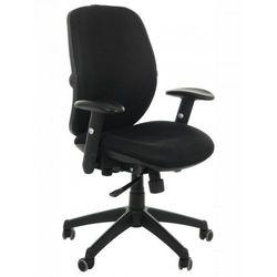Krzesło obrotowe biurowe KB-912/b/CZARNY, KB-912B/CZARNY