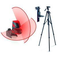 Poziomica laserowa  lino l2+, statyw, uchwyt ścienny marki Leica