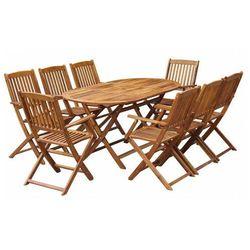 Zestaw drewnianych mebli ogrodowych - Tony 3X