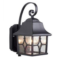 Zewnętrzna LAMPA ścienna KENT KENT Elstead KINKIET klasyczna OPRAWA ogrodowa IP43 outdoor czarna, KENT