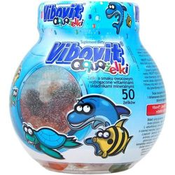 Vibovit aquażelki x 50 żelków (lek Witaminyi minerały)