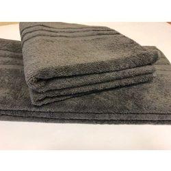 Ręcznik hotelowy 50x100 cm Grafit Antracyt 100% bawełna egipska, CF85-137DE