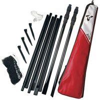 Siatka do badmintona z teleskopowymi słupkami TALBOT TORRO (4015752959908)