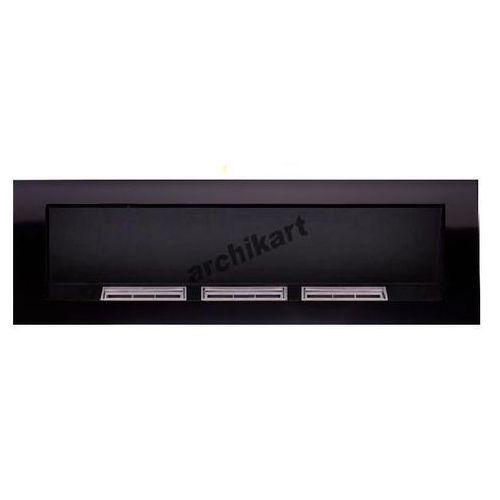 Biokominek 1400X400 czarny połysk by ARCHIkart - oferta [0558ef0231b23676]