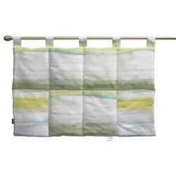 Dekoria  wezgłowie na szelkach, zielono-szaro-morska, 90 x 67 cm, aquarelle