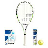Babolat Reakt Lite Wimbledon + piłki + owijki
