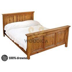 Łóżko hacienda ii 140x200 marki Woodica