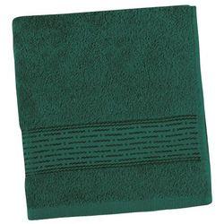 Bellatex  ręcznik kamilka pasek ciemnozielony, 50 x 100 cm
