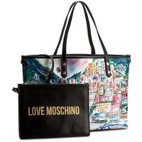 Torebka LOVE MOSCHINO - JC4069PP13LI000A Print Nero, kolor wielokolorowy