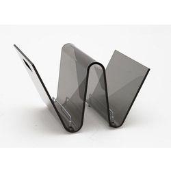 Gazetnik os dymiony transparentny marki D2.design