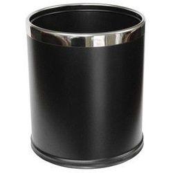 Stella pojemnik na śmieci 9 l, zdejmowana obudowa ze stali w kolorze czarnym 20.101