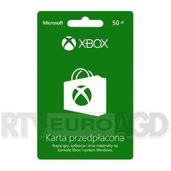 Doładowanie Xbox Live 50 PLN - produkt w magazynie - szybka wysyłka! z kategorii Kody i karty pre-paid