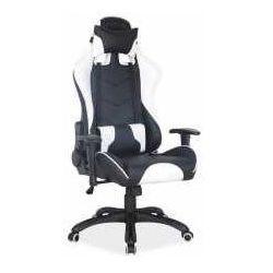 Signal meble Fotel q-109 czarno-biały - zadzwoń i złap rabat do -10%! telefon: 601-892-200