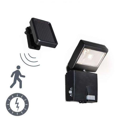 Lampa zewnętrzna Dark projektor LED z panelem słonecznym - sprawdź w lampyiswiatlo.pl