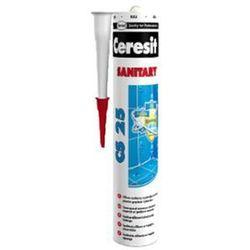 Silikon Sanitarny CS 25 Bezbarwny 280 ml Ceresit - produkt z kategorii- izolacja i ocieplanie