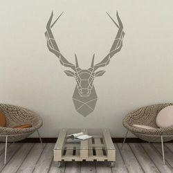 Szablon do malowania głowa jelenia 2415 marki Wally - piękno dekoracji