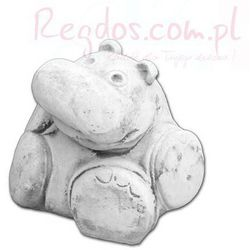 Figura betonowa mały hipopotam
