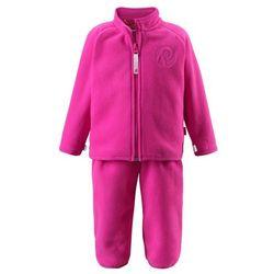 Komplet polarowy dwuczęściowy Reima ETAMIN bluza/spodnie różowy