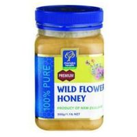 Miód wild flower 500g marki Manuka health new zealand