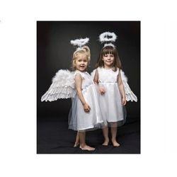 Strój Aniołek - zestaw - rozmiary: od 86 do 128 - XS, S, M - XXS - 86/98 cm z kategorii Kostiumy dla dzieci