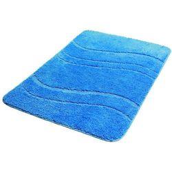 Dywanik łazienkowy BISK One 60 X 90 cm Mikrofibra Niebieski