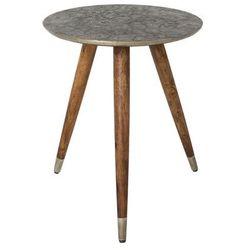 Dutchbone  stolik bast metalowy 2300054
