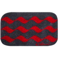 Grund dywanik łazienkowy colani 41, czerwona, 60x100 cm
