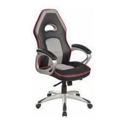 Fotel Q-055 czarno-szary - ZADZWOŃ I ZŁAP RABAT DO -10%! TELEFON: 601-892-200, SM F Q055