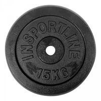 Obciążenie żeliwne 15kg inSPORTline