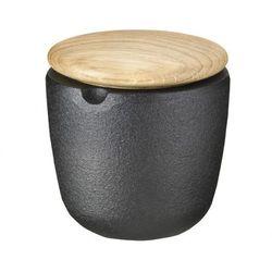 Skeppshult - Pojemnik do przypraw z dębową pokrywką wysokość: 7,5 cm