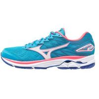 Mizuno WAVE RIDER 20 Obuwie do biegania treningowe atomic blue/white/diva pink od Zalando.pl