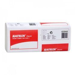 Ręcznik papierowy składany classic zz 2 biały marki Katrin
